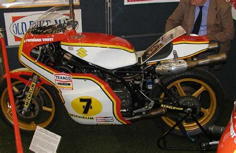 Barry Sheene Suzuki Rg500 1976 Suzuki Rg500 Barry Sheene Classic Motorcycle Pictures