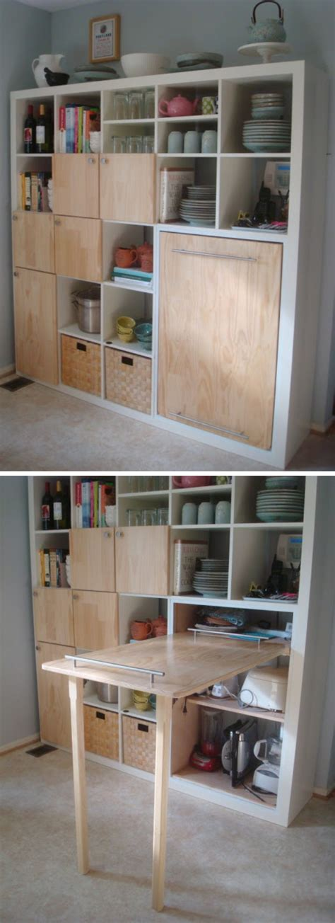 Oak Cabinet Kitchen life hacks for living large in small spaces 2017