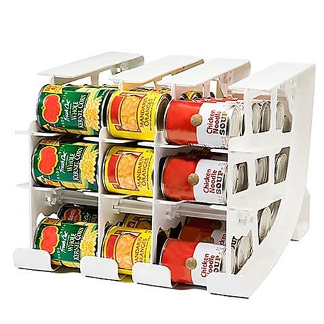 Fifo Storage Can Rack by Fifo Can Tracker Food Storage Organizer Www