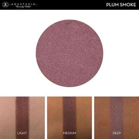 Eyeshadow Abh plum smoke velvet abh starter custom palette