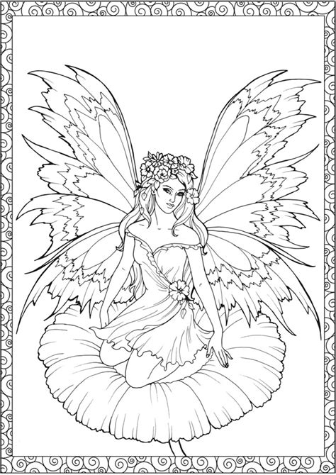 fairies more volume 2 line coloring book books coloring pages on coloring pages