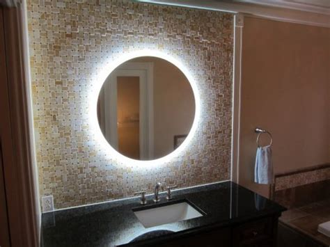 Reflecting Ideas With Functional And Decorative Mirrors Lighted Wall Mirrors For Bathrooms
