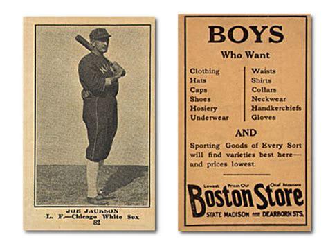 Boston Store Gift Card - buy 1917 boston store h801 8 baseball cards sell 1917 boston store h801 8 baseball