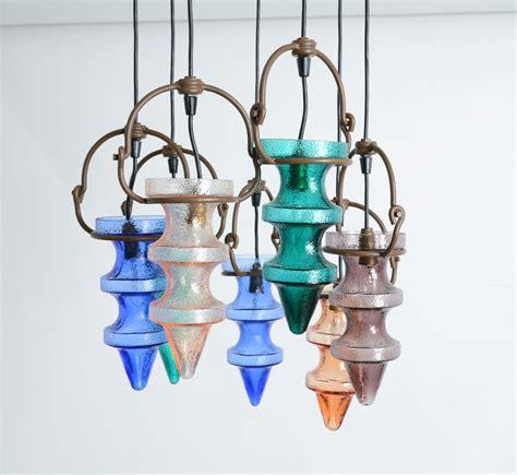 Chagne Glass Chandelier Glass Chandelier By Nanny Still Mckinney For Raak Vintage Design Point