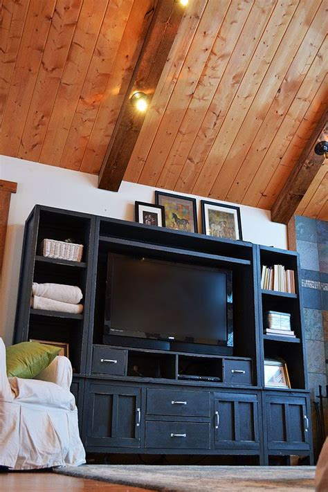 entertainment center i want ana white com has guide 14 best images about entertainment center bookshelves on