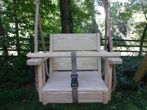 baby tree swing wood tree swings toddler cypress swing and 10 feet of rope per