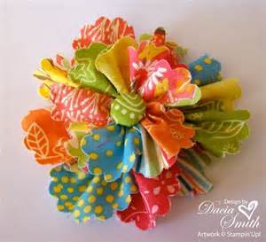 How To Make Flowers Out Of Paper Ribbon - best 20 fabric flowers ideas on easy fabric