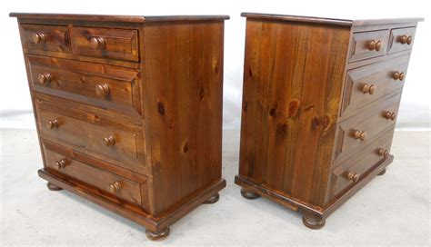 dark wood chest of drawers antique sold pair victorian style dark pine small chest of drawers