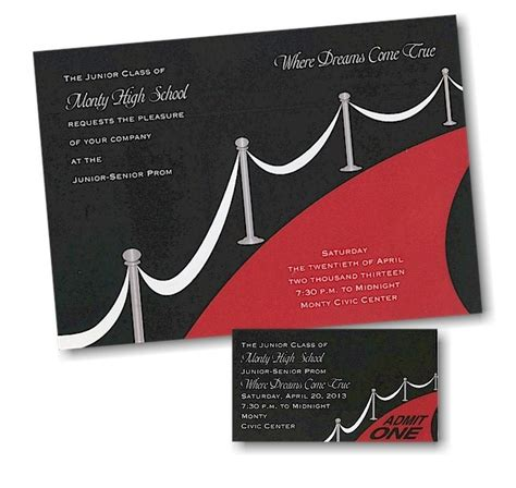 ugly prom pictures on pinterest party invitations ideas walk the red carpet with this prom invitation click