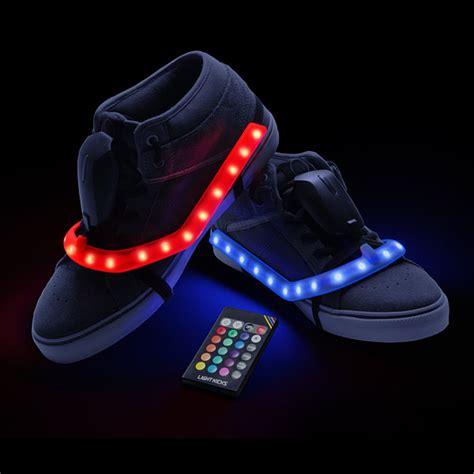 Light Shoes by Light Kicks Led Shoe Light System Thinkgeek