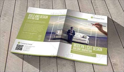 modern brochure design templates 25 best premium and free psd brochure templates 2014