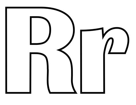 coloring page letter r geography letter r coloring pages