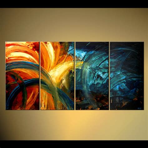 painting decor abstract painting original abstract home decor painting