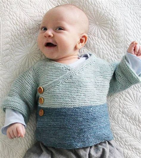 baby knits free knitting pattern for easy baby kimono easy garter