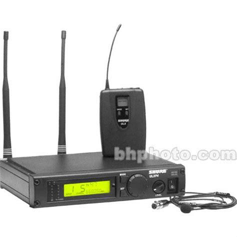 shure ulx professional series wireless lavalier ulxp14 85 m1