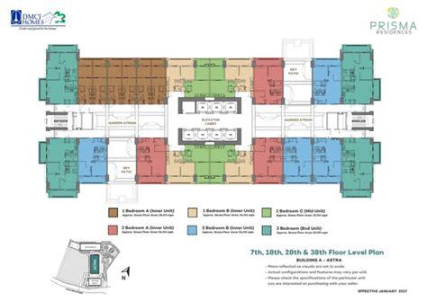 residences evelyn floor plan prisma residences dmci pasig dmci homes online