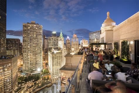 top rooftop bars in chicago chicago rooftop bar with a view londonhouse chicago