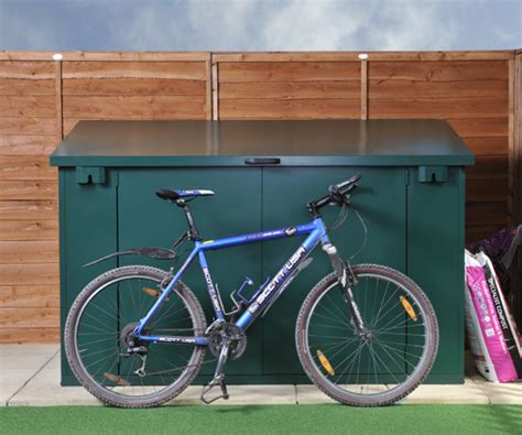 Mountain Bike Shed by Metal Storage Reviews Bike Storage Reviews Shed