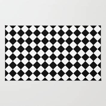 Black And White Checkered Kitchen Rug Checkered Area Rug Black And White Rugs Ideas