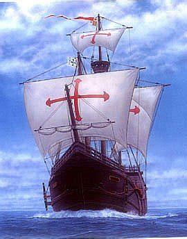 barcos animados de cristobal colon carabela