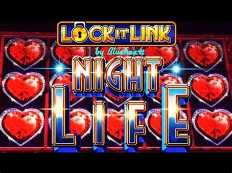 lock  link night life  diamonds slot machine bonus big wins youtube