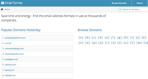 comment trouver une adresse e mail a partir du nom