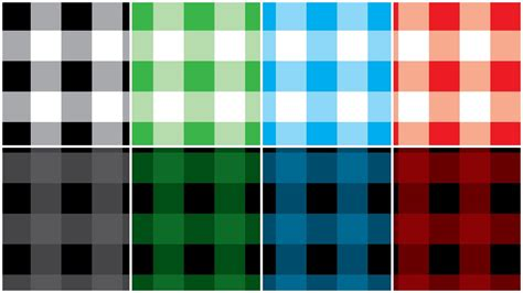 check vs plaid illustartor buffalo check pattern tutorial youtube