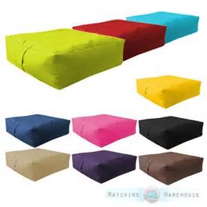 Patio Seat Cushion Pouf Imbottito Cuscino Impermeabile Per Interno Esterno