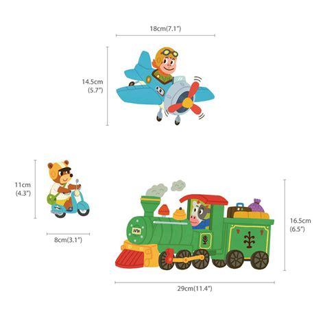 wandtattoo kinderzimmer fahrzeuge wandsticker auto fahrzeuge der tiere wandsticker kinderzimmer