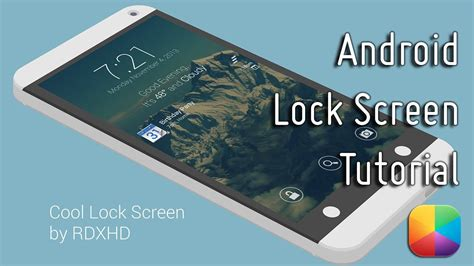 cool lock screen apps for android cool lock screen by rdxhd android lock screen tutorial
