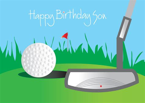 golf themed birthday quotes happy birthday son facebook quotes quotesgram