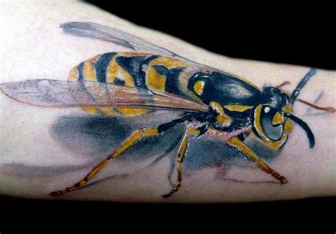 3d realistic bee tattoo by darek darecki tattooimages biz