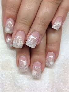 Blue White And Silver Christmas Tree - 50 festive christmas nail art designs