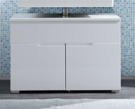 badezimmer unterschrank waschbeckenunterschrank weiss hochglanz badezimmer