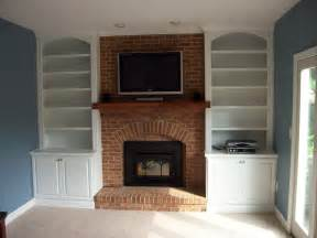 Wall Bookshelve by Built In Bookshelves Around Fireplace American Hwy