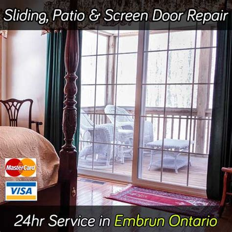Patio Door Repair Service Sliding Patio Door Repair Embrun On Screen Glass Doors