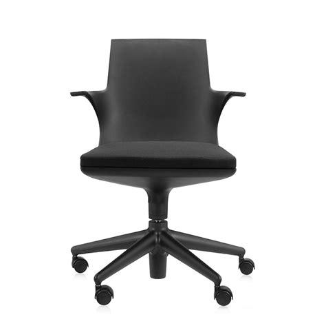 kartell ufficio kartell sedia da ufficio spoon chair nero nero