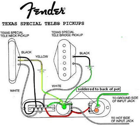 wiring diagram for fender tele special wiring diagram