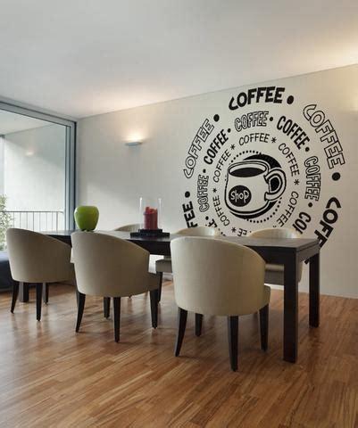 coffee shop wall design vinyl wall decal sticker coffee shop os dc180