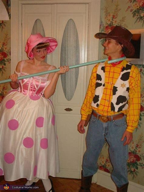 woody  bo peep couples halloween costume