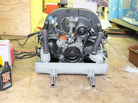 volkswagen beetle engine engine picked up from builder 1966 vw beetle project