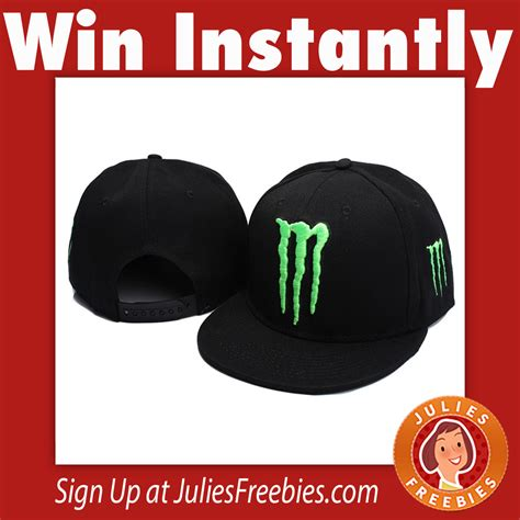 Win Free Stuff Online Instantly - monster energy instant win game and sweepstakes freebies