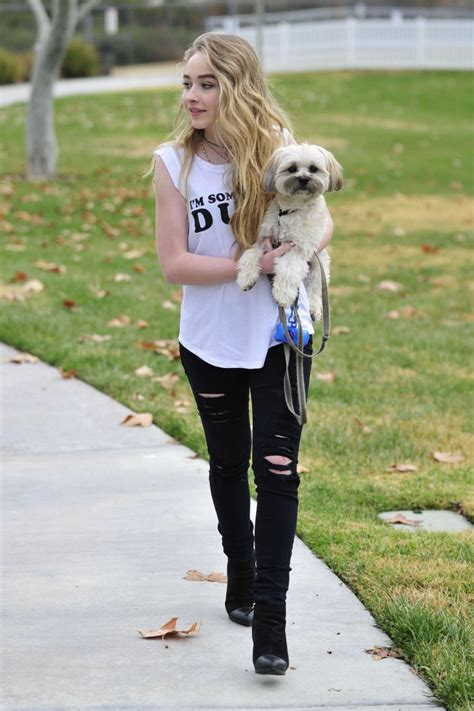 Sabrina Denim Yuny 17 sabrina carpenter in ripped 17 gotceleb