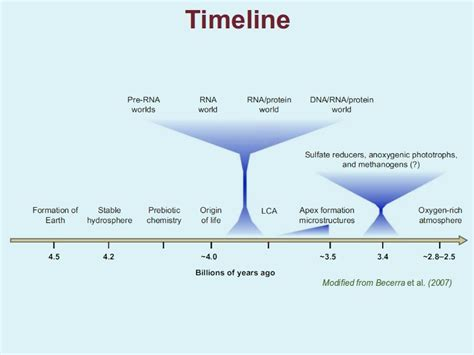 history of pattern formation theory the origin of life and of the atmosphere teaching biology