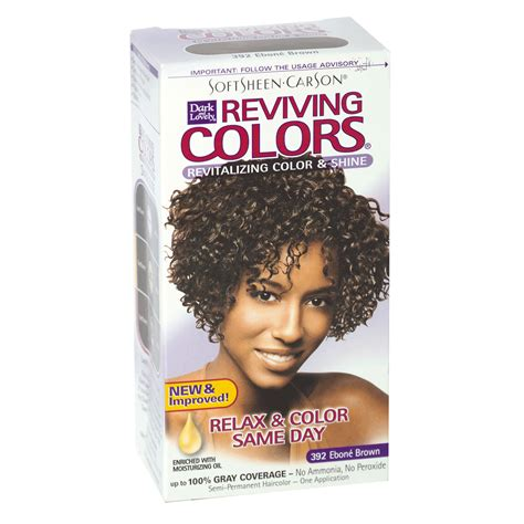 dark and lovely reviving colors semi permanent haircolor 393 dark and lovely reviving semi permanent hair color