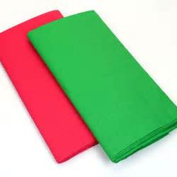 Crafts For Fall Decorations - disposable paper tablecloth red or green pipii