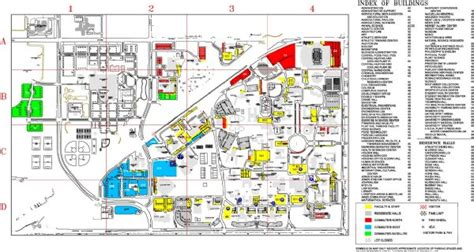 map of texas tech university locations texas tech university location