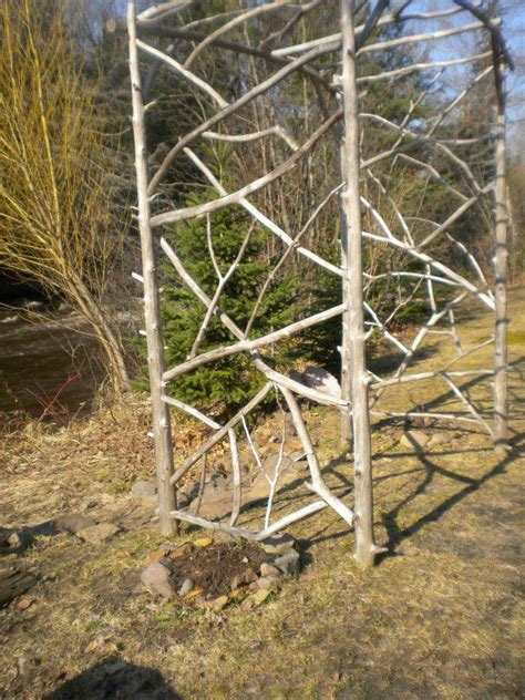 Branch Trellis 358 best crafts things to make out of tree branches images on diy trellis garden
