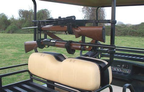 Gun Rack For Golf Cart by Power Ride Custom Cart Gun Rack Great Day Inc