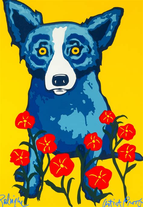 rodrigue blue blue george rodrigue for sale
